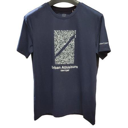 肯拓普男式圆领T恤衫 C122894509 蓝色/黑色/灰色/白色 2019夏季新款