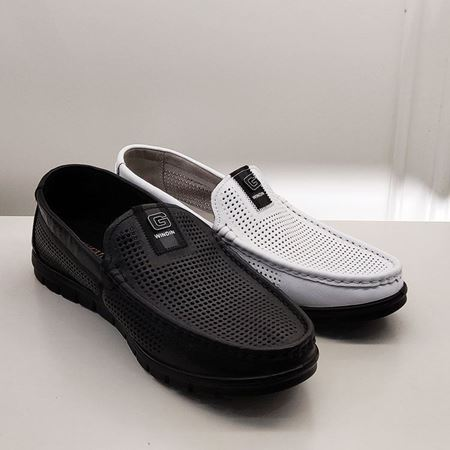 富贵鸟男士凉鞋FM9215603  白色/黑色 2019夏季新款