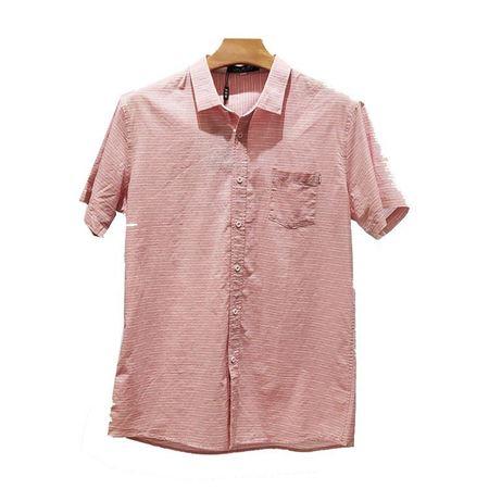 培罗蒙休闲衬衫19323-1粉 2019夏季新款