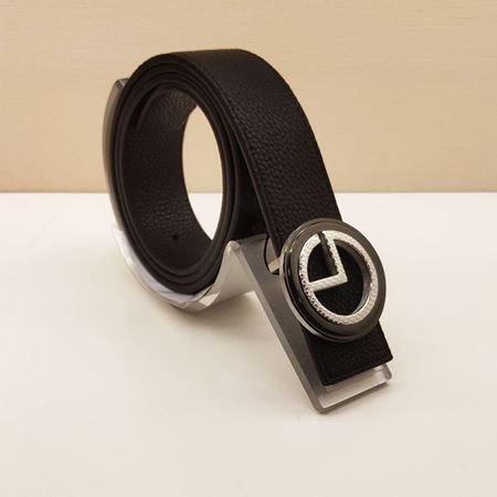 金利来男式皮带 GAT484003-511 黑色 2019夏季新款