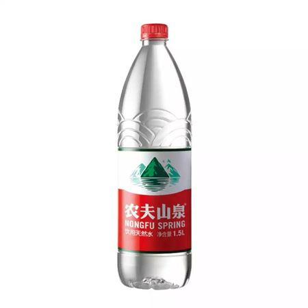图片 农夫山泉弱碱性饮用天然水1.5L